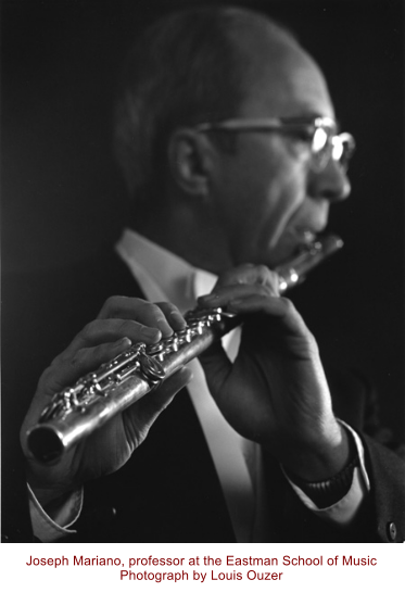 Joseph Mariano, professor at the Eastman School of Music Photograph by Louis Ouzer
