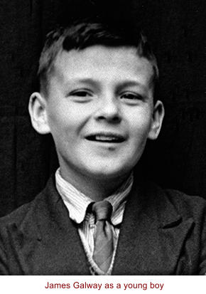 James Galway as a young boy